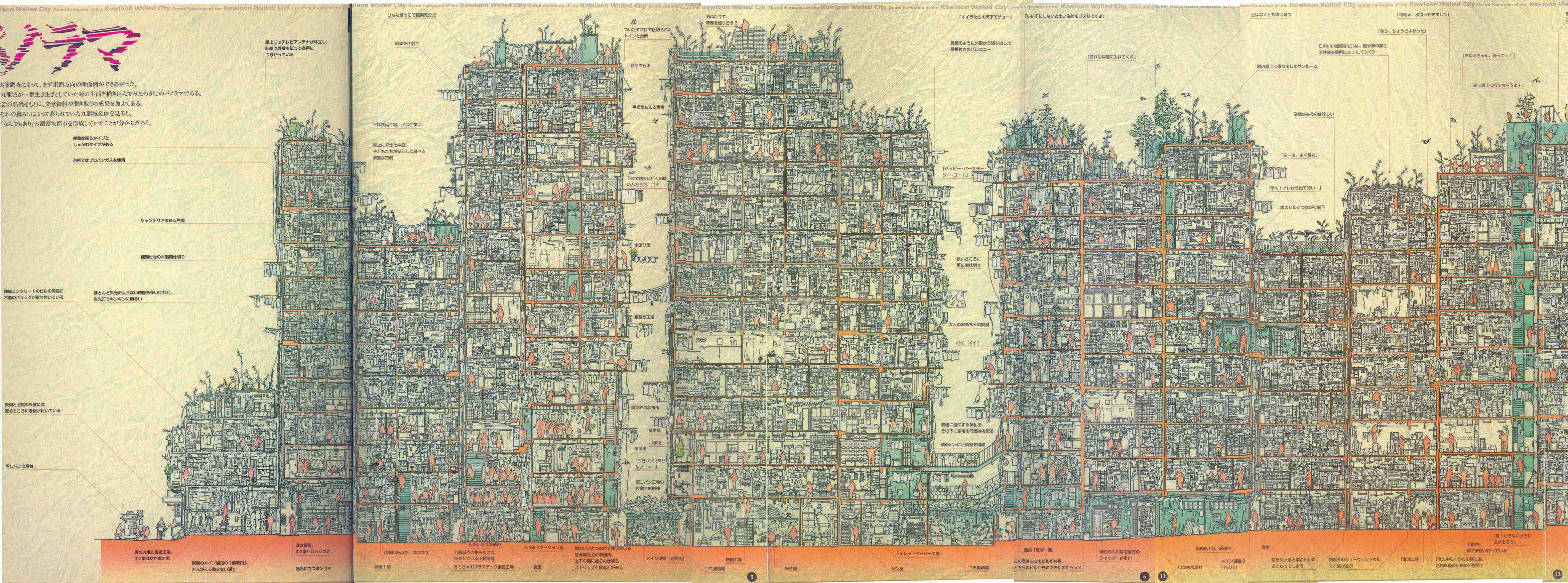 japanese cross section porn - ... huge cross-section map.