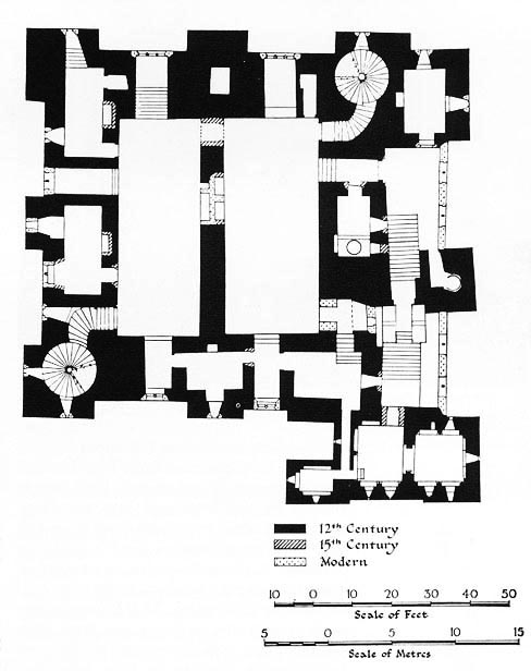 Fantasy Castle Floor Plans http://www.deconcrete.org/2011/02/10/inhabit-a-wall/