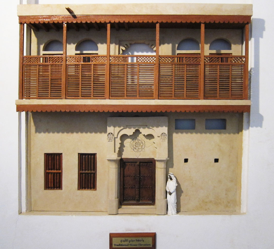 Dubai is an old city deconcrete for Traditional house architecture